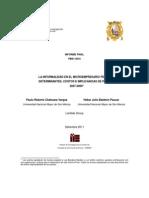 La Informalidad en el microempresario peruano
