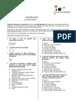 Cuestionario DNN 2005