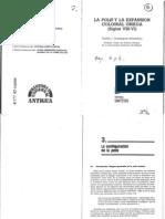 Dominguez Monedero, Adolfo J. - La Polis y La Expansión Colonial Griega (Siglos VIII a VI) - Capítulos III y IV