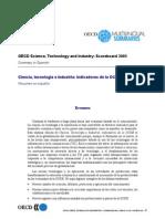 Ciencia Tecnologia e Industria Ocde 2005