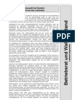 Betriebsrats-Neuwahl bei Daimler
