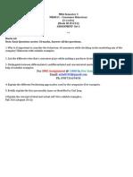 Solved, MK0011 – Consumer Behaviour