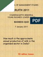 CMYBL 2011 Business Quiz