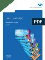 Sia Get Licensed