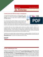 CAP Regional Lima - Resumen de Noticias 28 10 2011