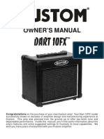 Dart 10FX Owners Manual 11OCT05