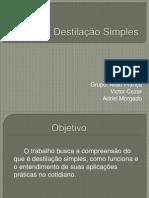 Destilacao Simples