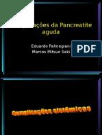 Complicações Da Pancreatite Aguda