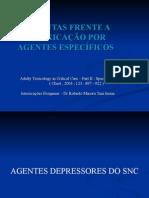 Condutas Frente a IntoxicaÇÃo Por Agentes EspecÍficos