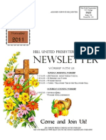 Body of Newsletter November 2011