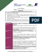 descripción de los documentos Modulo 3