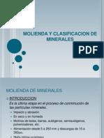 Molienda-clasificacion de Minerales