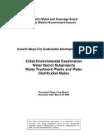 IEE Water Sector - Mar 29, 2008