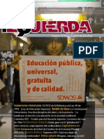 Revista Izquierda No 17, noviembre de 2011