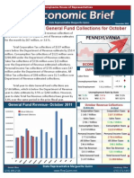 Rep. Quinn November 2011 Economic Brief