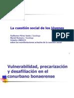 La cuestión social de los jóvenes