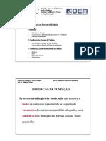 Aula 01-Introdução aos Processos de  Fundição
