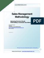 Sales Management Methodology