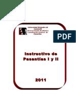 Manual Instructivo Pasantias i y II Agosto 2011