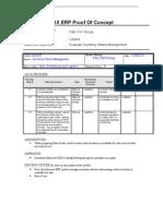 XXX POC Inventory Status Management
