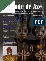 Falando de Axé - Setembro de 2011 - 4ª Edição