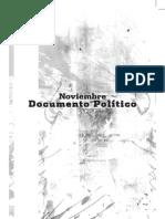 Documento Político del mes de noviembre