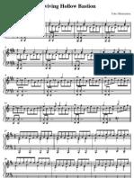 Kingdom Hearts II - Reviving Hollow Bastion ~Piano~