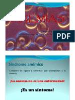 Anemias, Prof. Emma Molina