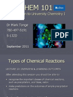 Chem 101 Lecture 13
