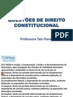 DIREITO CONSTITUCIONAL_Módulo 6_exercícios