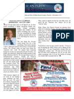 Palm Beach County GOP Newsletter - November 2011