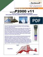 Sap 2000 Brochure