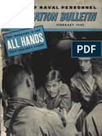 All Hands Naval Bulletin - Feb 1945