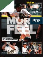 Wilson Catalog (Baseball 2012)