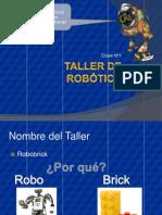 Clase 01 Taller-De-Robotica