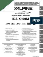 Alpine IDA X100M Manual