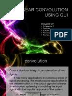Linear Convolution Using GUI