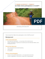 CAADP NSA Participation Strategy