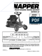 Series 22 Operator Manual