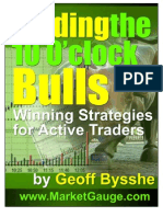 """Trading the 10 O'Clock Bulls"" Geoff Bysshe"