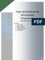 TIPO DE SISTEMAS DE INFORMACIÓN EMPRESARIAL