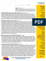 Zenone 1page Resume 2012 Online