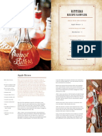 Bitters Recipe Sampler by Brad Thomas Parsons