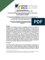 Suárez Et Al 2005 'de Los Paquetes Didácticos Hacia Un Repositorio de Objetos de Aprendizaje