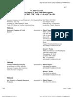 INSURANCE COMPANY OF NORTH AMERICA et al v. SYNGENTA CROP PROTECTION, LLC et al Docket