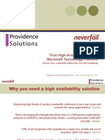 Neverfail Overview