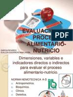 Evaluacion Del Proceso Alimentario-nutricio
