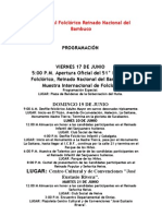 51 Festival Folclórico Reinado Nacional del Bambuco