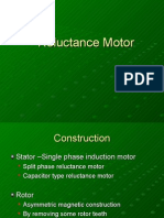 Reluctance Motor