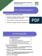 Aula - Materiais de Construção Civil _I